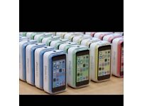 APPLE IPHONE 5c UNLOCK 16GB BRAND NEW BOX WITH ALL ACCESSORIES VARIOUS COLOUR