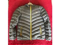 Penguin Hooded Down Jacket in Small