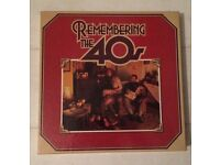 Readers Digest Records / Vinyl / LPs: 'Remembering the 40s'