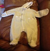 0-3 mos snow suit, barely used