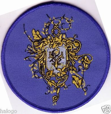 """Harry Potter - Goblet of Fire: Beauxbatons Round Crest 4"""" Patch - HP054"""