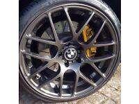2 x BMW CSL style Alloy wheels
