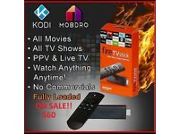 Amazon Fire TV Stick, 2nd Gen, Alexa, Kodi 17.6, iptv,movies,tv shows, live sports and much more!