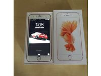 iPhone 6s 64gb Rose Gold Boxed NEW For Sale Open To O2 Network