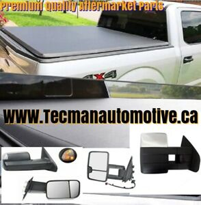 Tonneau covers truck bed covers towing mirrors Side mirrors