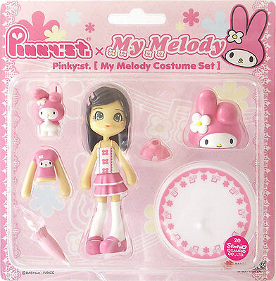 Pinky:st Street PC006 Sanrio Hello Kitty MY MELODY Sacchin Vinyl Figure Anime