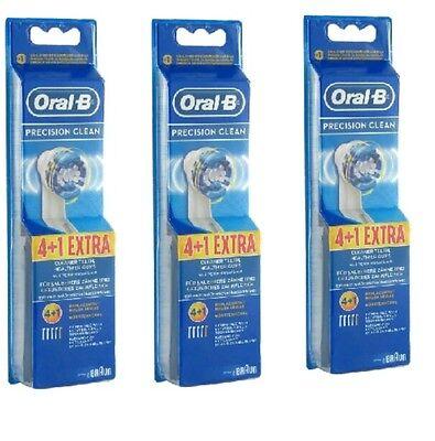 Oral-B Precision Clean Aufsteckbürsten 3 X 4+1-Original