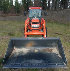 KUBOTA L5030HSTC 50 HP Tractor - 1210hrs