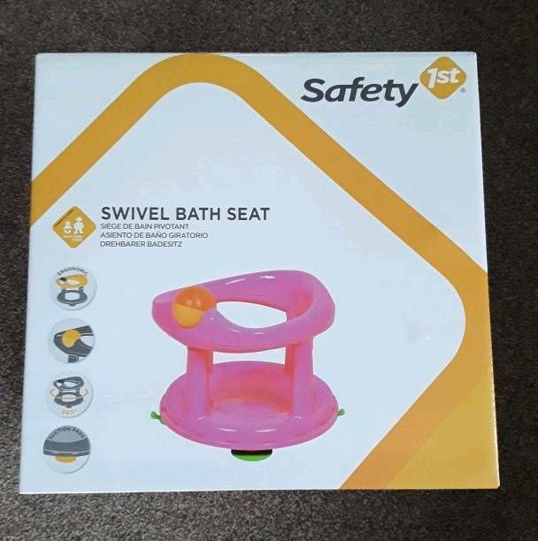 Brand new Safety First Swivel Bath Seat Pink   in Glenfield ...