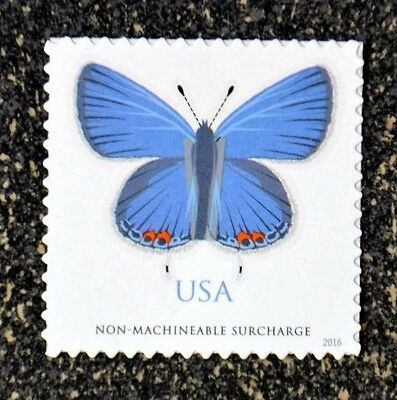 USA2016 5136 68C EASTERN TAILED-BLUE BUTTERFLY SINGLE - NON MACHINEABLE RATE