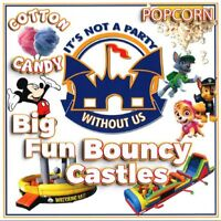 Biggest Inflatable Obstacle course bouncy castles bubble soccer