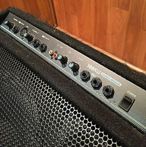 Accoustic amplifier Yorkville KW 100 Power Wedge