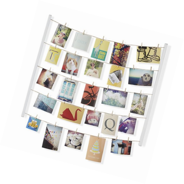 Hanging Photo Display Picture Wall Decor Home Family Photogr