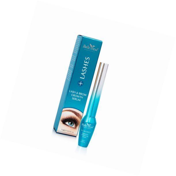 Belle Azul +Lashes - Siero intensificatore crescita ciglia e sopracciglia. Inten