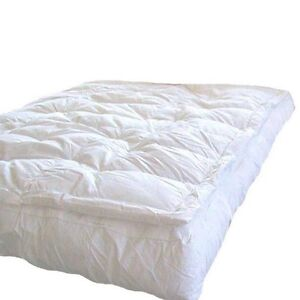 MARRIKAS Pillow Top Goose Down Feather Bed Featherbed KING
