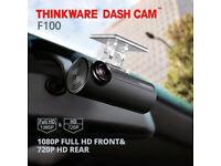 Thinkware F100 1080p Front & Rear Dash Cam Edinburgh Glasgow Perth CALL