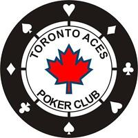 TORONTO CHIP MAGNET EVENT  NO LIMIT HOLDEM TOURNAMENT $100 BUYIN