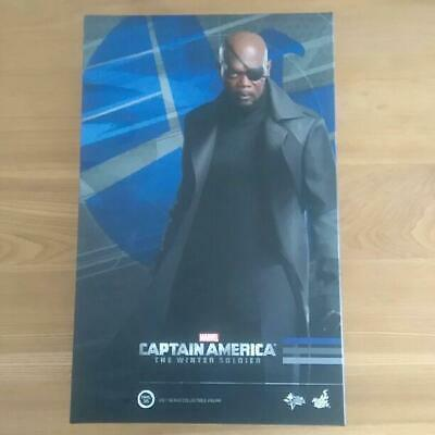 Used Marvel Hot Toys Nick Fury captain America winter soldier avengers figure