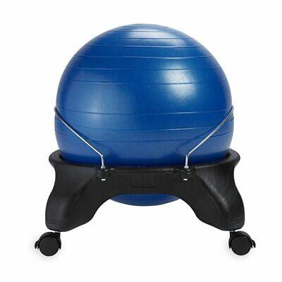 Gaiam Adjustable Custom-fit Balance Ball Chair Blue