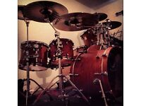 Yamaha Beech Absolute Custom Drum Kit Shells/Hardware/Extras Bargain Package