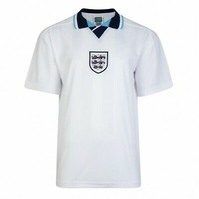England Score Draw Home Football Shirt 1996 Medium Brand New