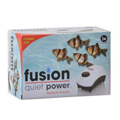 Fusion Quiet Power Aquarium Air Pump Model 500
