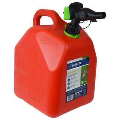 5 Gallon Smartcontrol Gas Can Fuel Vent Controllable Flow Container