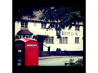 CHEF / SOUS CHEF , FULL OR PART TIME, THE WHITE LION, HAMPTON IN ARDEN,SOLIHULL