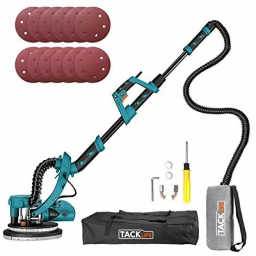 TACKLIFE Drywall Sander, Wall Sander With Sanding Accessories,Ideal for Home DIY