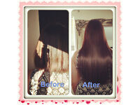 Celebrity luxury hair extensions, micro ring hair £110 book now. Same day appointments available