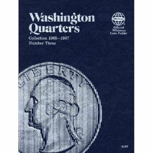 Washington Quarter Folder 1965-1987 Whitman Coin Book