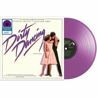 DIRTY DANCING SOUNDTRACK VINYL NEW! EXCLUSIVE LIMITED EDITION PURPLE LP, SWAYZE