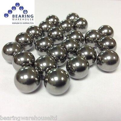 """3/8"""" (10mm) Catapult Slingshot Ammo Grade 1000 Steel Ball Bearings X 100 pack"""