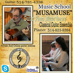 ***  Classical Guitar and Piano Lessons 514-781-4338*** West Island Greater Montréal image 3