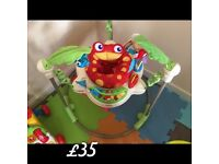 Jumperoo - good condition as hardly used