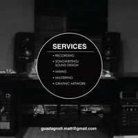 OFFERING A FULL RANGE OF MUSIC PRODUCTION SERVICES