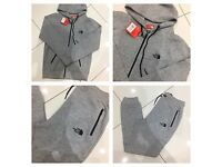 Brand New With Tags Men's North Face Grey Tracksuit £30