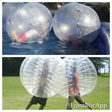 BUBBLE ZORB SOCCER & HUMAN HAMSTER WALK-ON-WATER Denistone East Ryde Area Preview