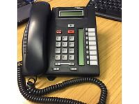 4 No. Nortel T7208 Handsets - Charcoal