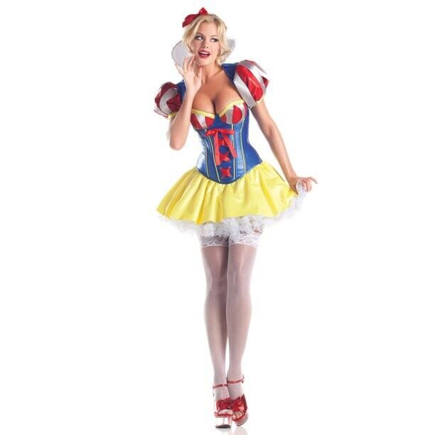 Be Wicked Sweetheart Snow White Women's Sexy Halloween Costume Size S/M
