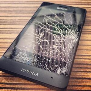 * Sony Xperia Z, Z1, Z2, Z3, Z5, Z5 Premium, X, XA, XA Ultra Broken Screen / LCD Repair On Spot *