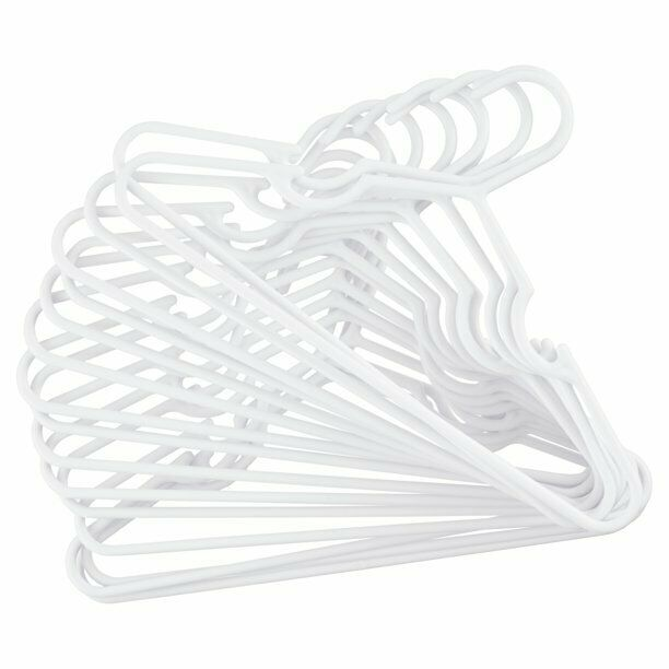 Delta Children Infant and Toddler Hangers, 100-Count White