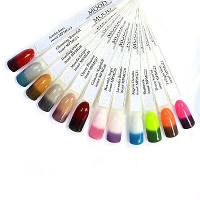 Nail Polish Mood Changing - Lechat Dare To Wear MOOD COLORS - No LED/UV light - Led Lights To Wear