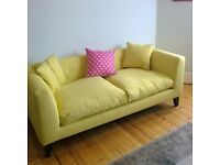 Graham and Green Snooze Mimosa Sofa 2.5 seater Couch