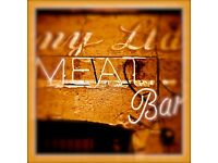 Meat bar requires Sous chef and Chef de Partie , full time and part time available