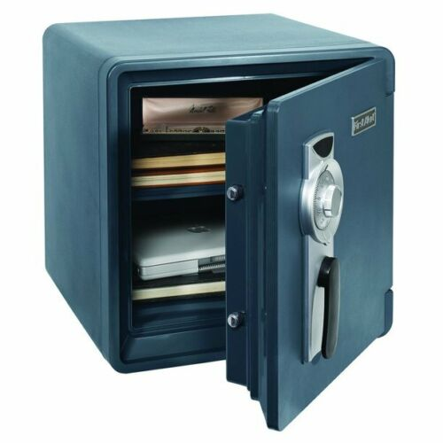 Combination Safe Home Security First Alert Waterproof and Fire Resistant