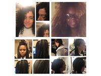 MOBILE AFRO HAIRDRESSER- GET YOUR WEAVES DONE FROM £10. BOX BRAIDS FROM £28, CROCHET BRAID FROM £25.