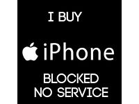 (( I BUY )) : iPHONE 6 / 6 plus / 5s / 5C / SE/ BLOCKE-D NO SERVIC-E / NO SIGNA-L / INSURANCE