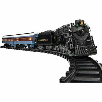 Large Scale Polar Express Train Set Battery Operated Christmas Kids 37 Pieces
