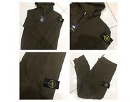 Brand New With Tags Men's S.I Khaki Tracksuits Slim Fit £30